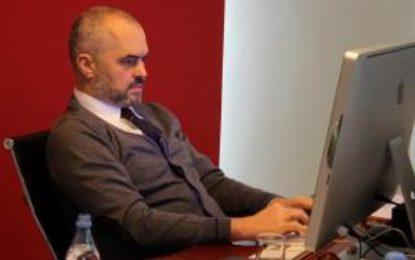 'Diktatura' dixhitale e Edi Ramës