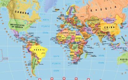 Çfarë kuptimi ka emri i çdo shteti? Kjo hartë i tregon të gjitha