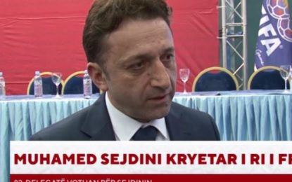 Maqedoni e Veriut, një shqiptar kryetar i Federatës së Futbollit