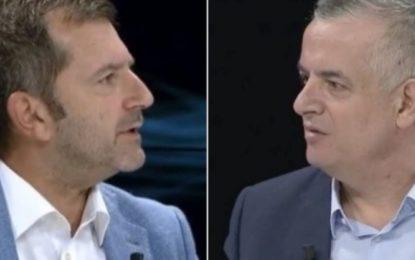 Sherr në studio, dy opinionistët e njohur akuzojnë njëri-tjetrin për b…lëpirje