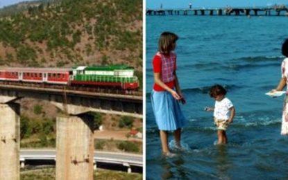 Me tren dhe bukë me vete, nostalgjia e plazhit para viteve '90