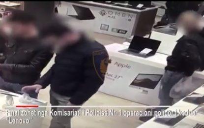 Bënte 'kërdi' me vjedhje laptopësh, ja si u zbulua 34 vjeçari në Tiranë (VIDEO)