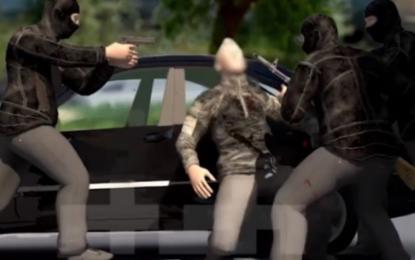 VIDEO 3D e rrëmbimit të Jak Prengës, si u sulmua dhe u tërhoq zvarrë