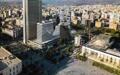 Të tjera kulla gjigande ngjitur me sheshin Skënderbej: Hapen themelet e 25-katëshit