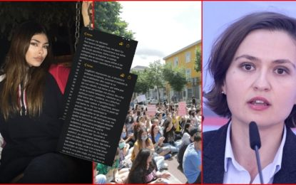 Edhe vajza e Niko Peleshit Aleksia, kundër Besa Shahinit: U tallët me djersën e maturantëve