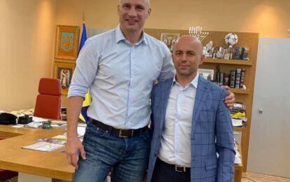 Klodian Allajbeu takon kryebashkiakun e Kievit Vitali Klitschko
