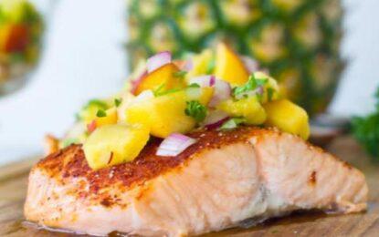 Receta gatimi me salmon