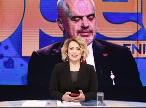 Edi Rama-Eni Vasilit: Jemi si çift romantik që s'na lënë disa burra të bëjmë muhabet (Video)