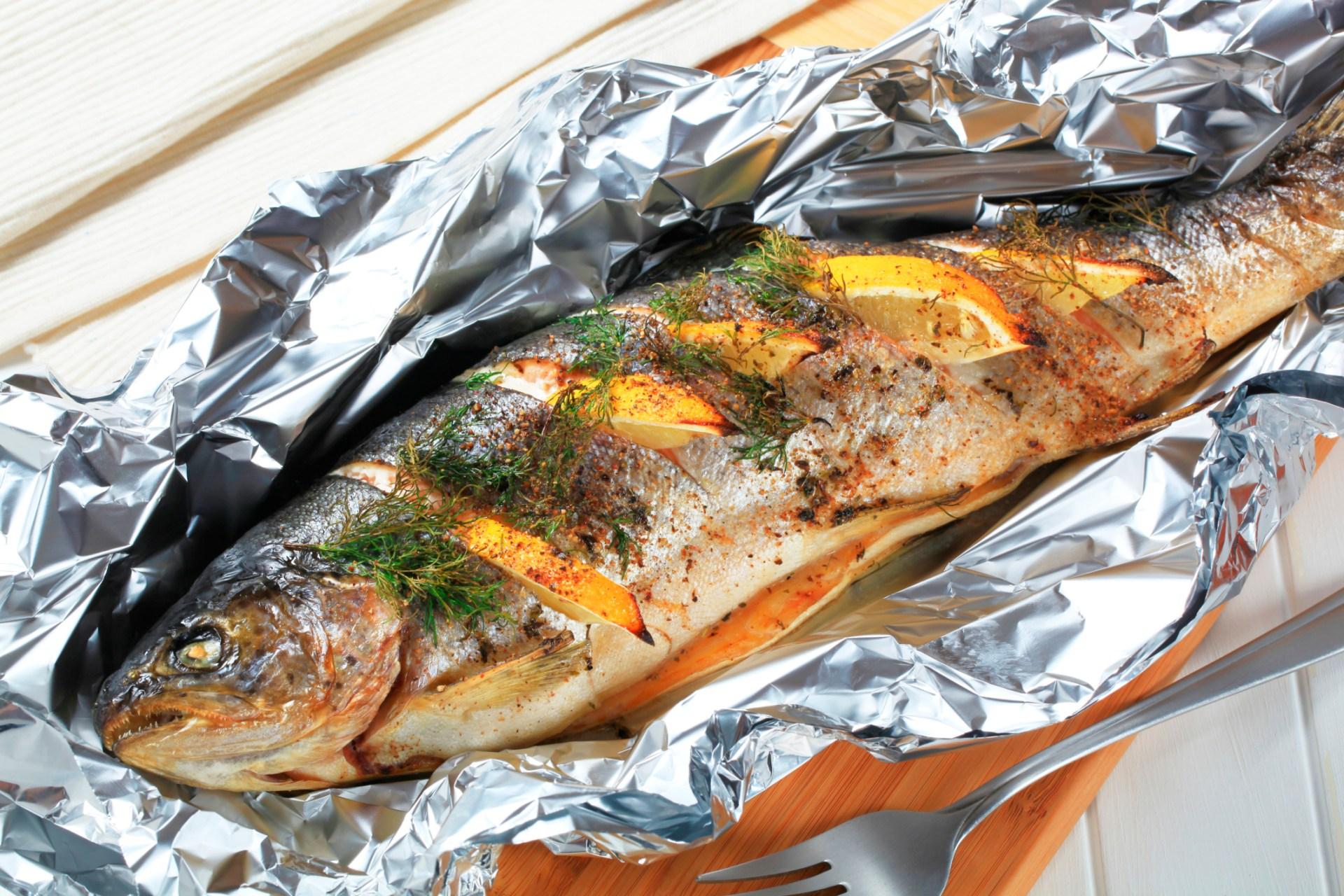 Peshk në furrë