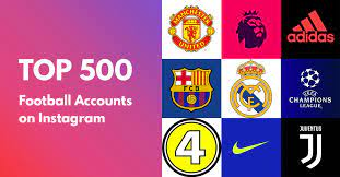 Top 500 Football Accounts on Instagram | by Radu Lisita | Medium
